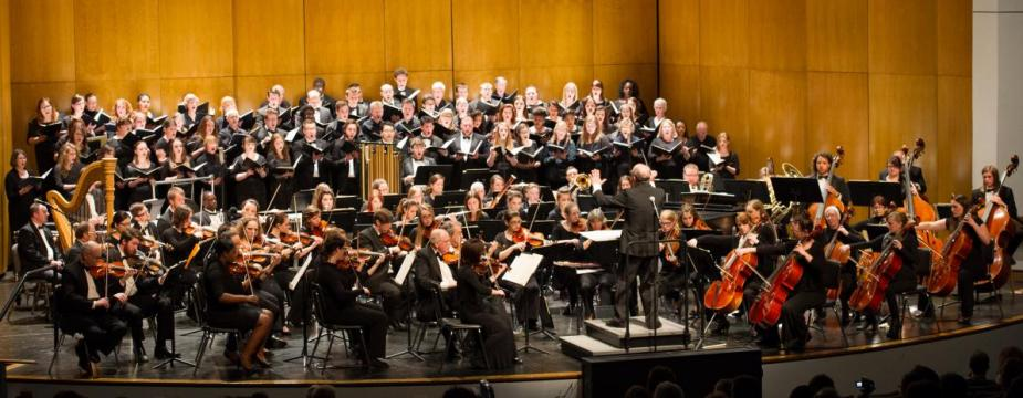 Buffalo State Philharmonia Orchestra in Rockwell Hall Performing Arts Center