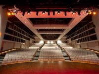 Performing Arts Center viewed from the stage.