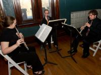 Chamber Ensemble students performing.
